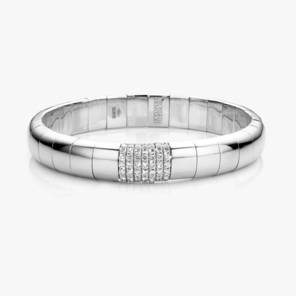 Armband Roberto Demeglio Pura Oro Wit Goud Diamanten Briljanten Maison Degreef 1848