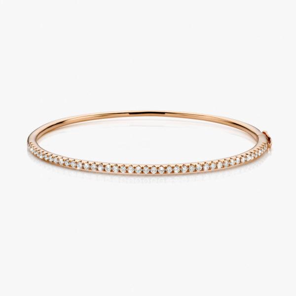 Bracelet Colorama Diamonds Rose Gold Diamonds Bangle Jewellery Maison De Greef 1848