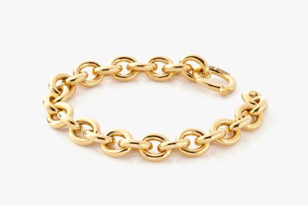 Bracelet Or Jaune Chain Gold Joaillerie Degreef