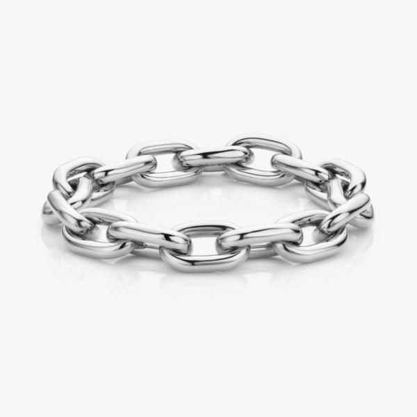 White gold bracelet ((Entrelacs))