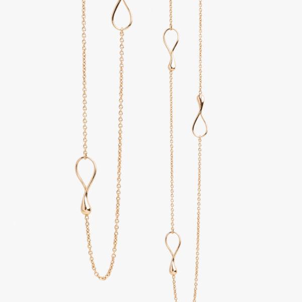 Halsketting Lang Dada Arrigoni Rood Goud Juwelen Maison De Greef 1848