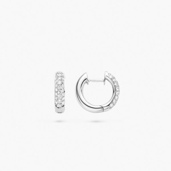 Linea Pura Earrings Lp3 Ob Db Side