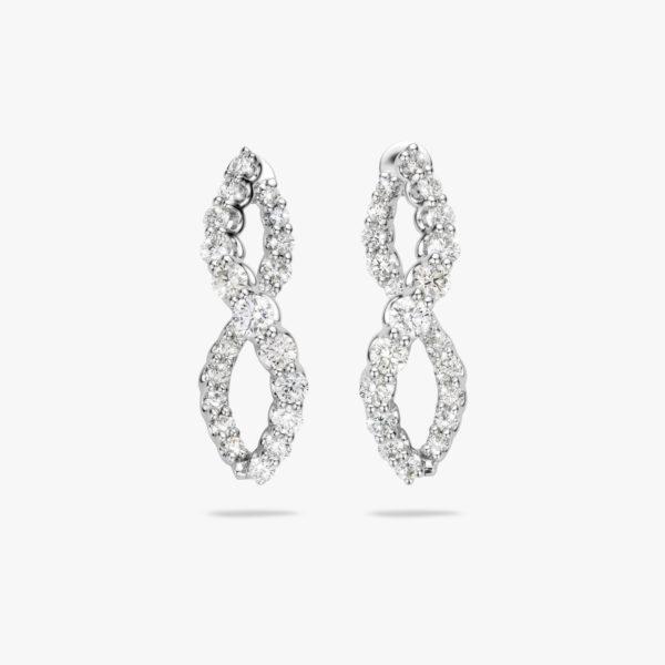 Oorbellen Diamonds Wit Goud Diamanten Briljanten Maison De Greef 1848