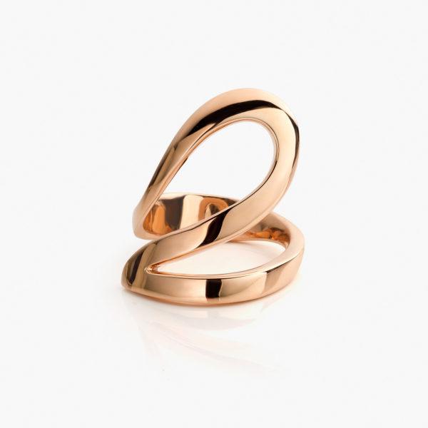 Ring Dada Arrigoni Ivy Rood Goud Juwelen Maison De Greef 1848