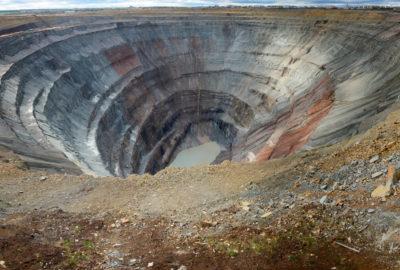 Origine Mine Diamants Extraction Maison De Greef
