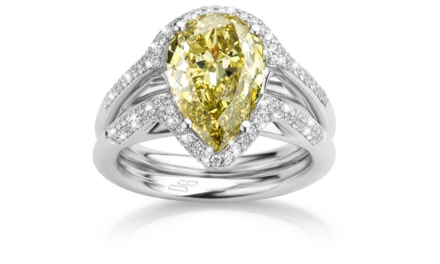 Zuid-Afrika: gele en oranje diamanten. | door Zuid-Afrika: gele en oranje diamanten.