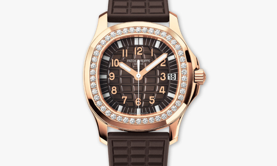 Montre Patek Philippe Aquanaut Ladies Brun 5068 R 001 Or Rose Diamants Maison De Greef 1848