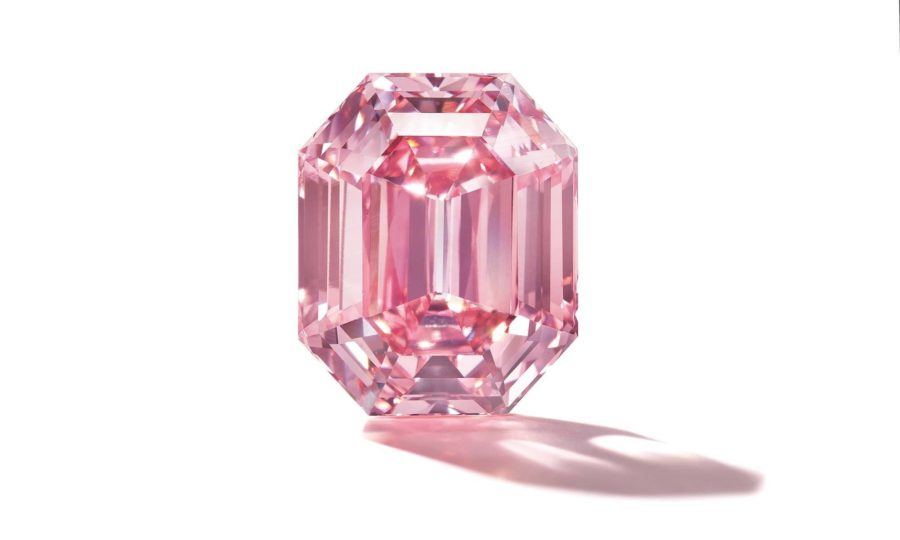 Australië: de (zeer zeldzame) roze diamant. | door Australia: the (very rare) pink diamond.