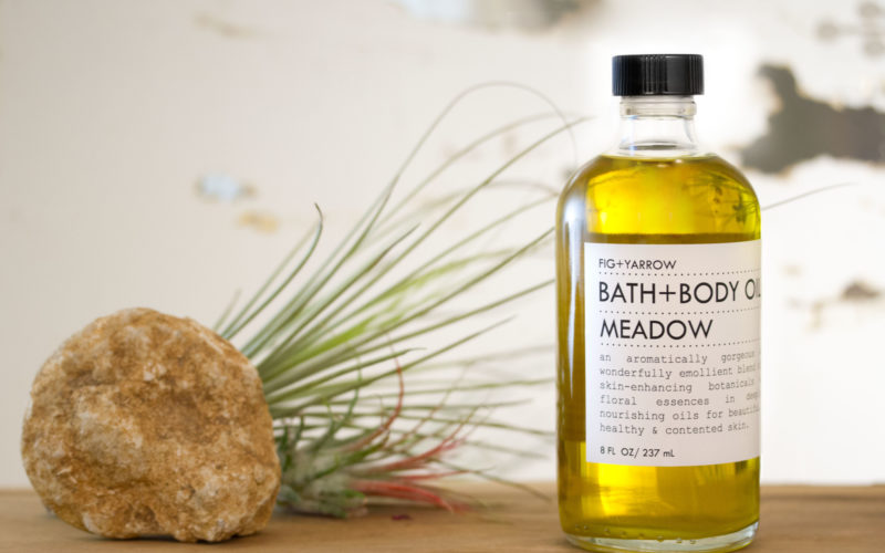 Labelchic Fig Yarrow Body Oil Meadow