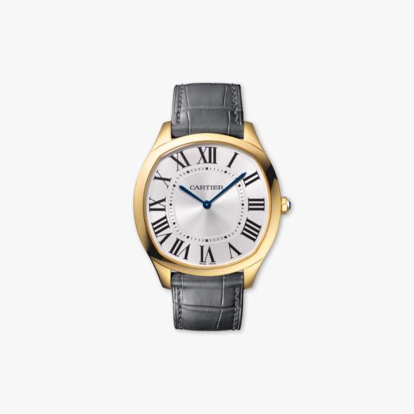 Uurwerk Cartier Drive De Cartier Extra Flat Wgnm0011 Geel Goud Maison De Greef 1848