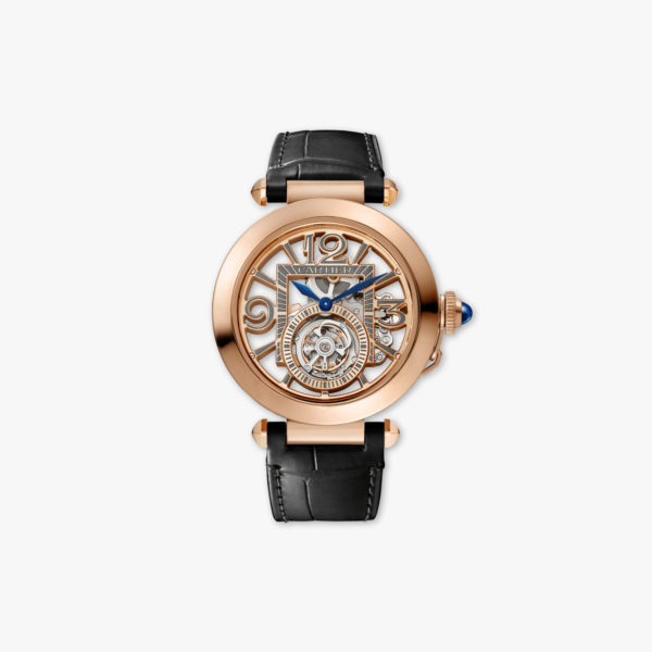 Pasha de Cartier - Tourbillon in rose gold