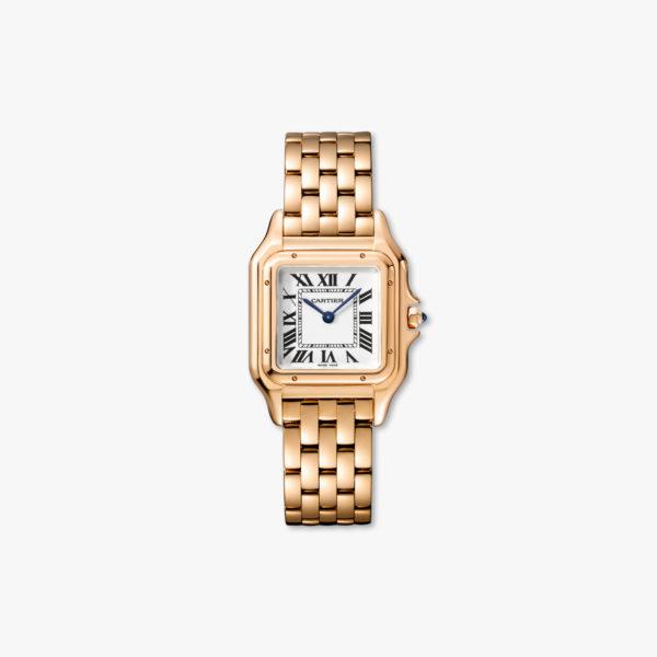 Quartz watch, medium model, rose gold