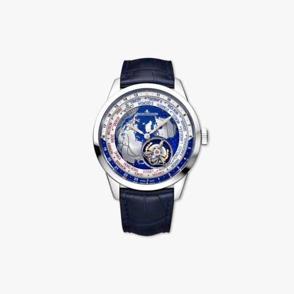 Automatic, grey gold watch Universal Time Tourbillon