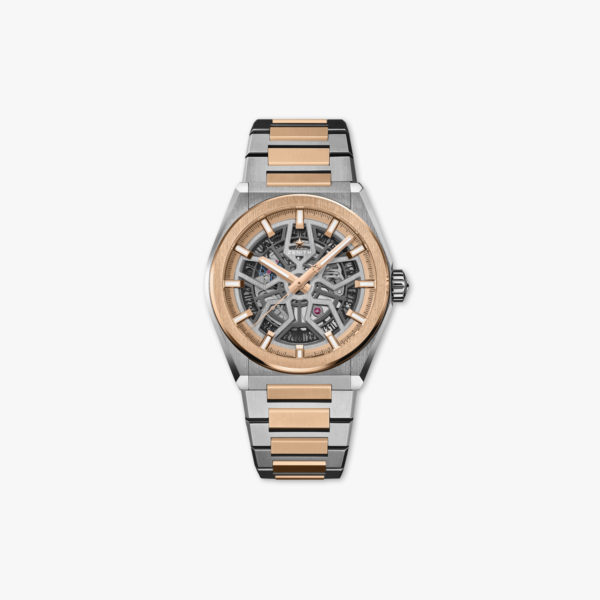 Montre Zenith Defy Classic 87 9001 670 79 M9001 Or Rose Titane Maison De Greef 1848