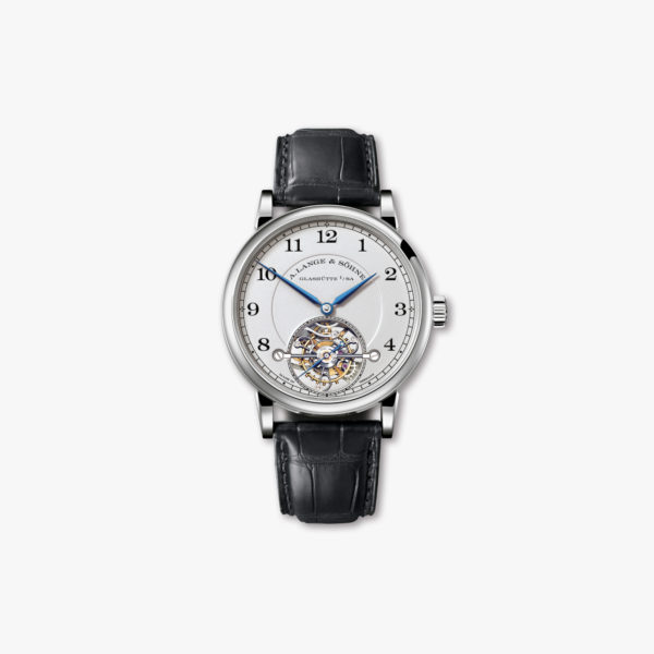Manual winding, platinum watch Tourbillon