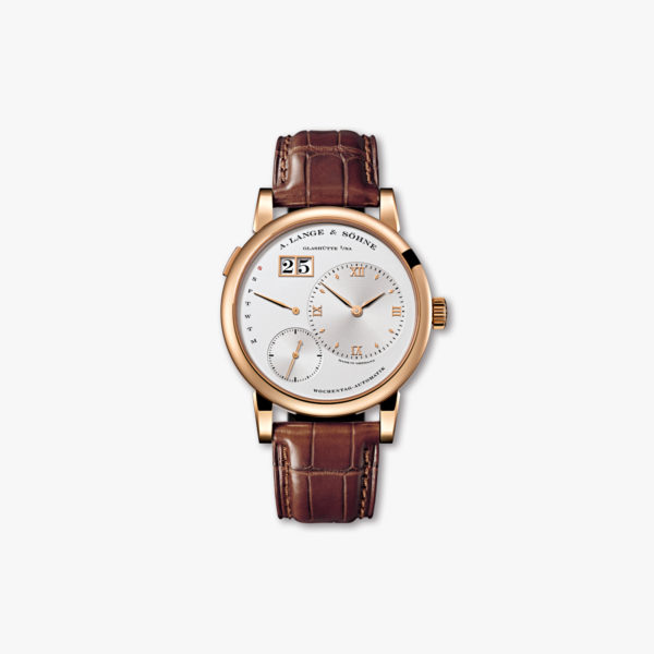 Lange 1 Daymatic in roze goud