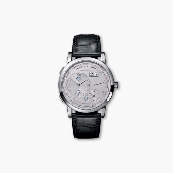 Lange 1 Time Zone in platinum