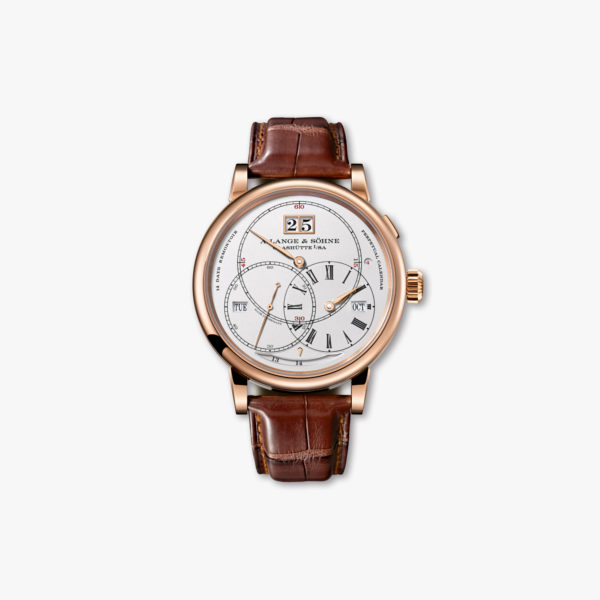 "Manual winding, rose gold watch ""Terraluna"" Perpetual Calendar"