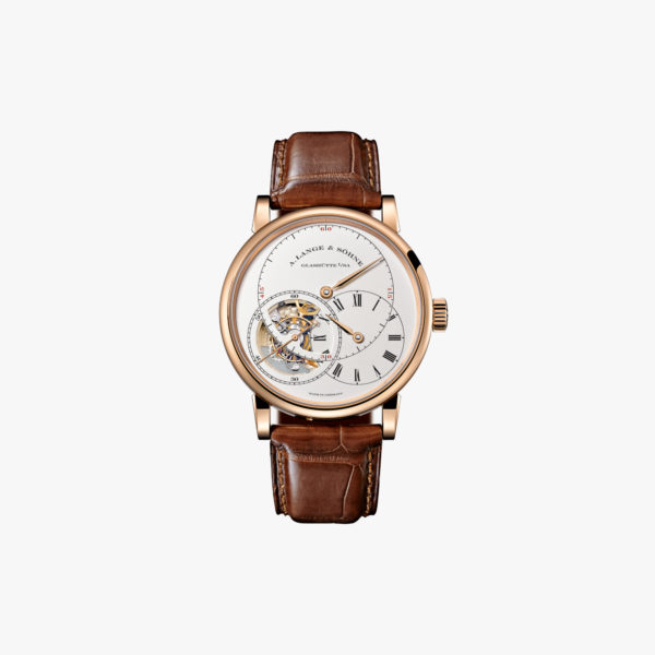 "Richard Lange Tourbograph ""Pour le Mérite"" in rose gold"