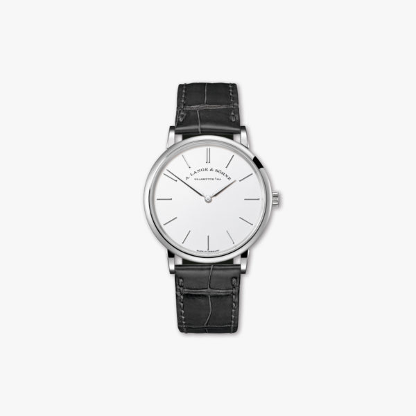 Saxonia Thin in white gold