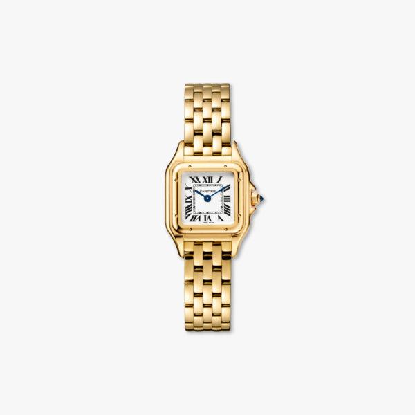 Quartz watch, small model, yellow gold