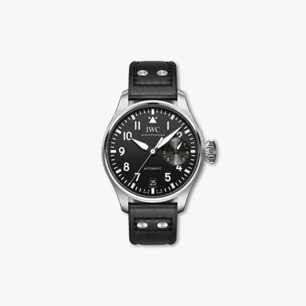 Aviator watch, Automatic, stainless steel
