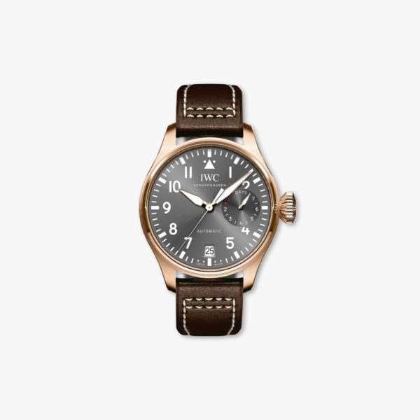Aviator watch Spitfire, automatic, rose gold