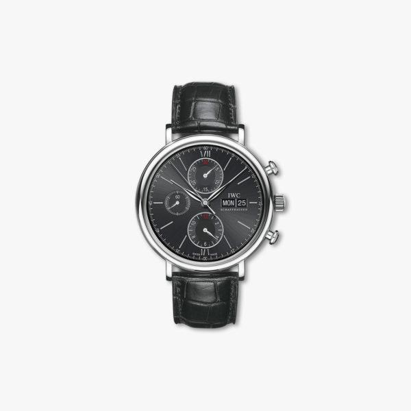 Montre Iwc  Portofino  Chronograph  Iw391008 Maison De Greef 1848