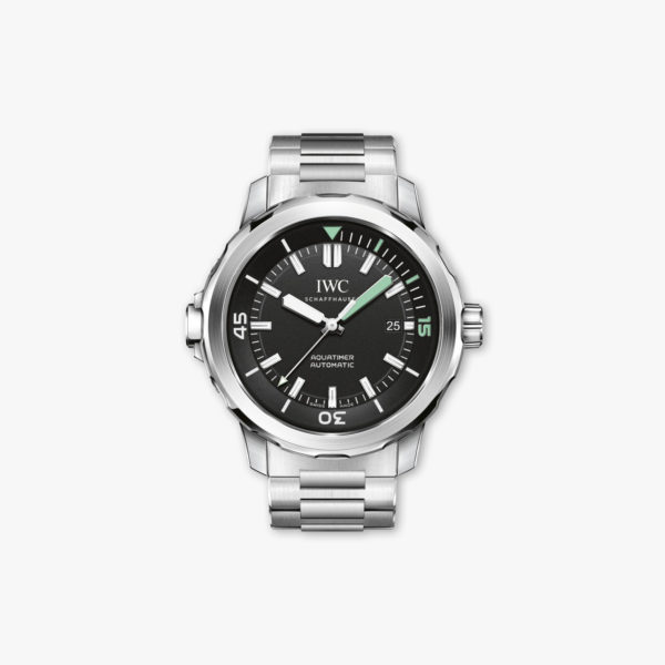 Montre Iwc Aquatimer Automatic  Iw329002 Acier Maison De Greef 1848