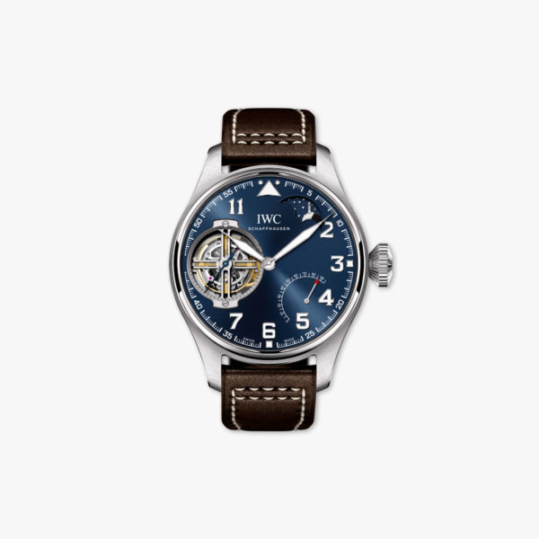 Montre Iwc Big Pilots Watch Constant Force Tourbillon Edition Le Petit Prince Iw590302 Platine Maison De Greef 1848