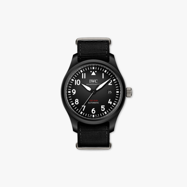 Montre Iwc Pilots Watches Automatique Top Gun Iw326901 Ceramique Noir Maison De Greef 1848