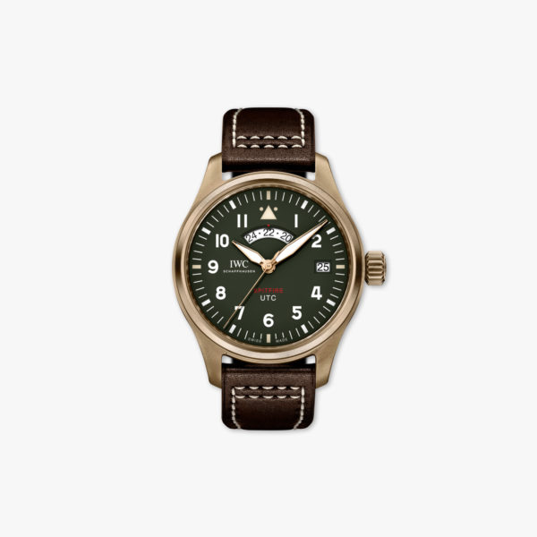 Montre Iwc Pilots Watches Utc Spitfire Edition Mj271 Edition Limitee Iw327101 Bronze Vert Maison De Greef 1848
