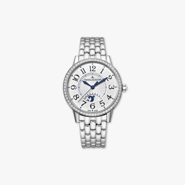 Rendez-Vous Night & Day Medium in stainless steel, set with diamonds