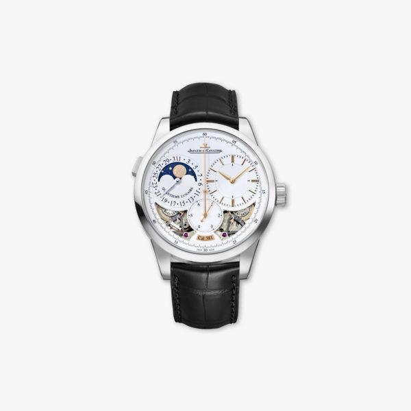 Montre Jaeger Lecoultre Duometre Quantieme Lunaire Or Blanc Q6043420 Maison De Greef 1848