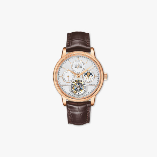 Montre Jaeger Lecoultre Master Grande Tradition Tourbillon Cylindrique A Quantieme Perpetuel Q5042420 Or Rose Maison De Greef 1848