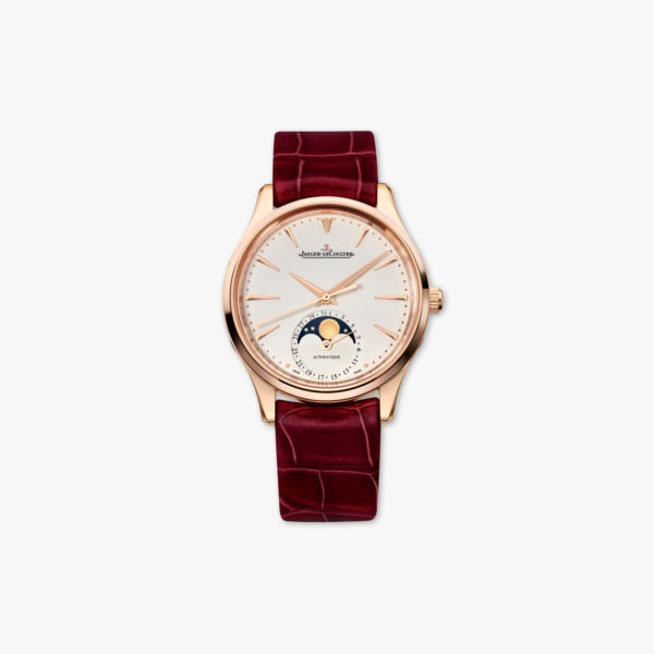 Montre Jaeger Lecoultre Master Ultra Thin Moon Ladies Q1252520 Or Rose Maison De Greef 1848