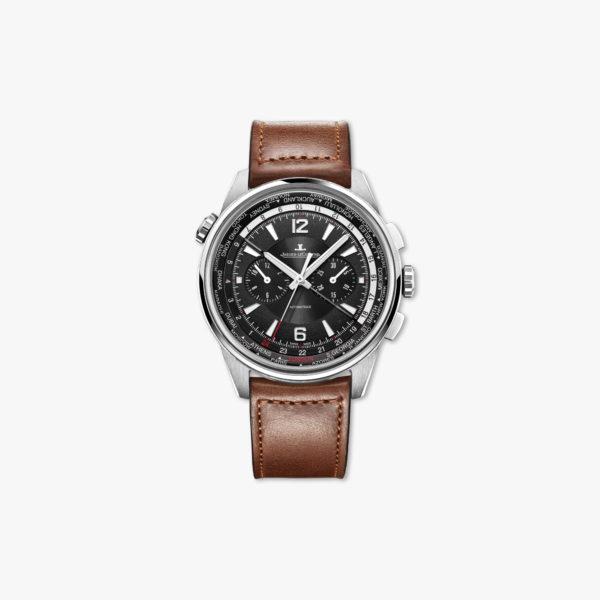 Montre Jaeger Lecoultre Polaris Chronograph Wt World Timer Q905T471 Acier Maison De Greef 1848