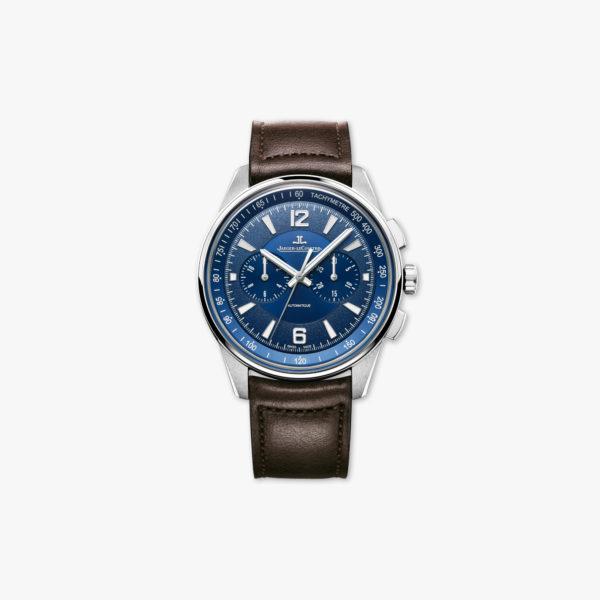 Montre Jaeger Lecoultre Polaris Chronographe Q9028480 Acier Bleu Maison De Greef 1848
