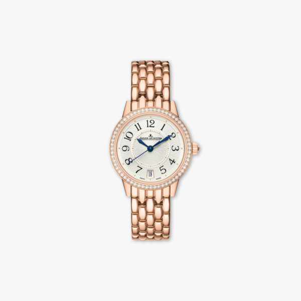 Rendez-Vous Date Small in rose gold, set with diamonds