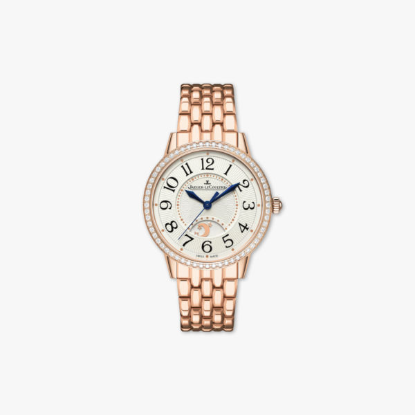 Rendez-Vous Night & Day Medium in rose gold, set with diamonds