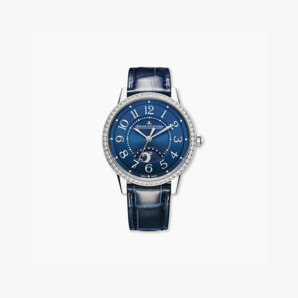 Montre Jaeger Lecoultre Rendez Vous Night Day Medium Q3448480 Acier Diamants Bleu Maison De Greef 1848