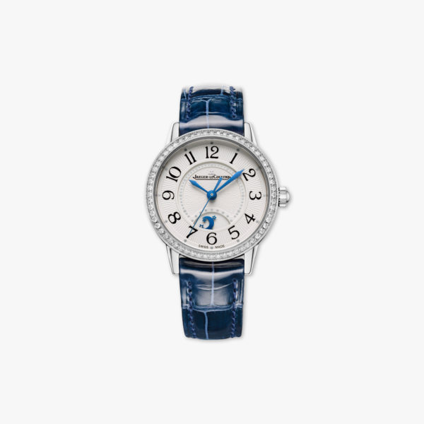 Montre Jaeger Lecoultre Rendez Vous Night Day Small Q3468430 Acier Diamants Bleu Maison De Greef 1848