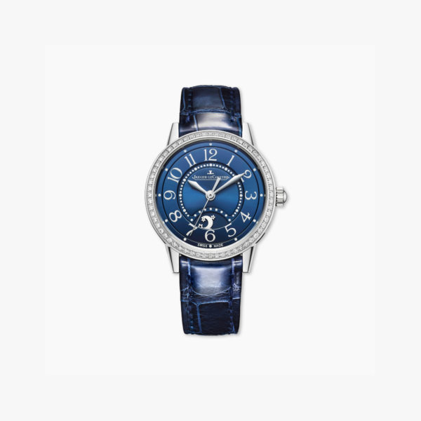 Montre Jaeger Lecoultre Rendez Vous Night Day Small Q3468480 Acier Diamants Bleu Maison De Greef 1848