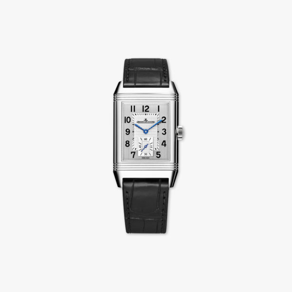 Reverso Classic Large Duoface Small Second in stainless steel