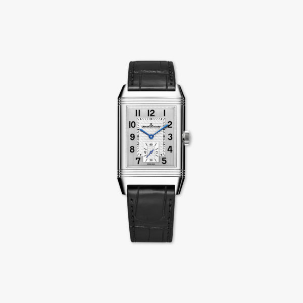 Reverso Classic Large Small Second in stainless steel