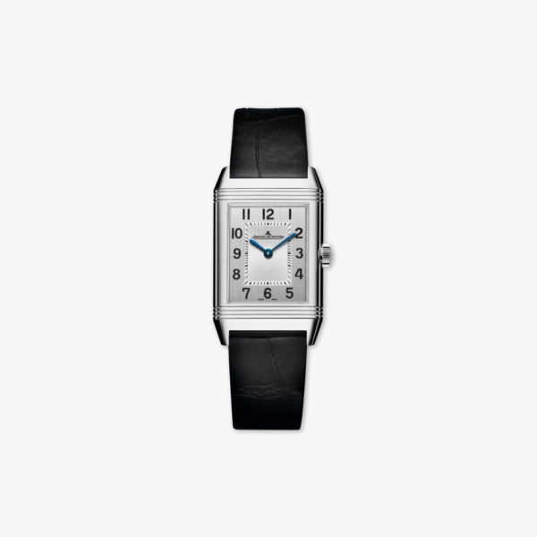 Montre Jaeger Lecoultre Reverso Classic Medium Duetto Q2588420 Acier Diamants Maison De Greef 1848
