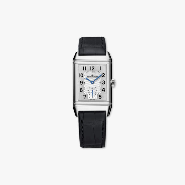 Reverso Classic Medium Duoface Small Second in stainless steel