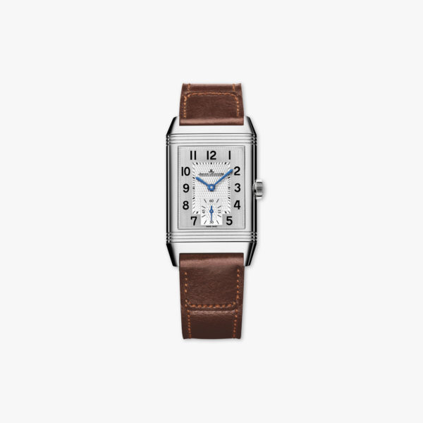 Montre Jaeger Lecoultre Reverso Classic Medium Duoface Small Second Q2458422 Acier Maison De Greef 1848