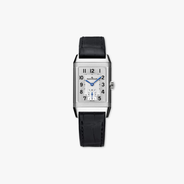 Reverso Classic Medium Small Second in stainless steel