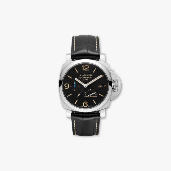 Luminor 3 Days GMT Power Reserve Automatic Acciaio - 44mm in stainless steel